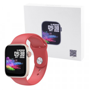 Фитнес-браслет Apl band T89 Original, IP67, 42mm, red